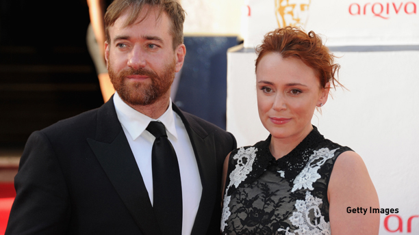 LONDON, ENGLAND - MAY 18:  Keeley Hawes and Matthew Macfadyen attend the Arqiva British Academy Television Awards at Theatre Royal on May 18, 2014 in London, England.  (Photo by Stuart C. Wilson/Getty Images)