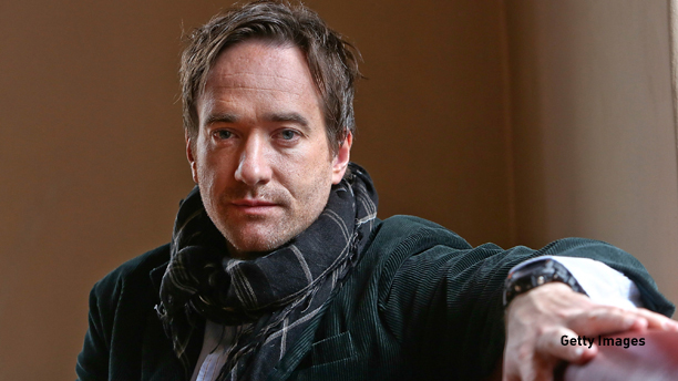 FRANKFURT AM MAIN, GERMANY - FEBRUARY 27:  Actor Matthew Macfadyen poses on set during the filming of movie 'Epic' on February 27, 2013 in Frankfurt am Main, Germany.  (Photo by Hannelore Foerster/Getty Images)