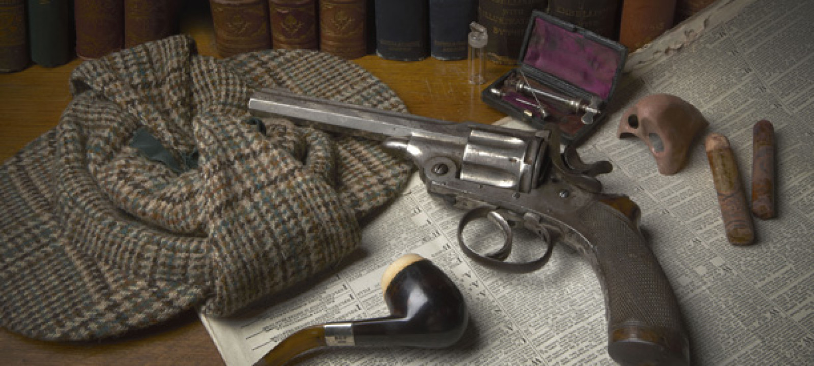 Sherlock Holmes exhibition objects