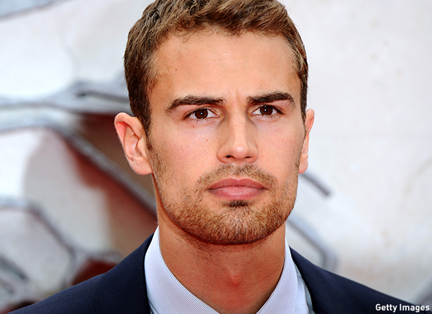"LONDON, ENGLAND - MARCH 30:  Theo James attends the European premiere of ""Divergent"" at Odeon Leicester Square on March 30, 2014 in London, England.  (Photo by Anthony Harvey/Getty Images)"