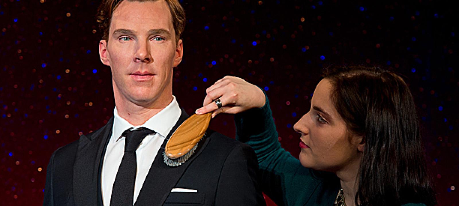 Benedict Cumberbatch's waxwork