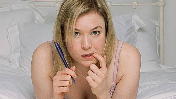 Writer's block: Renee Zellweger as Bridget Jones (Pic: Working Title)