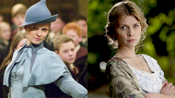 Clémence Poésy in 'Harry Potter and the Goblet of Fire' and in 2012's 'Birdsong'