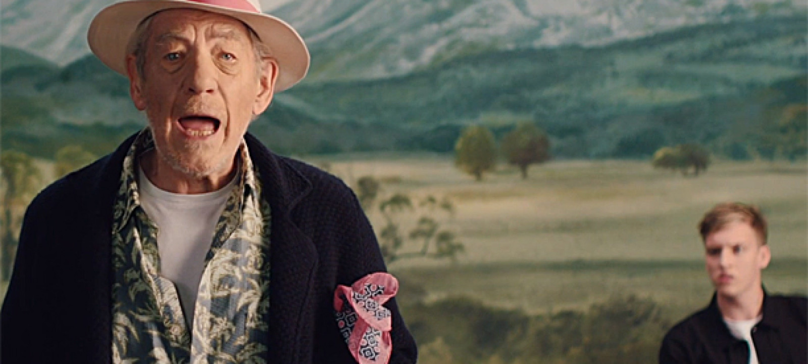 Sir Ian McKellen and George Ezra (Pic: YouTube)