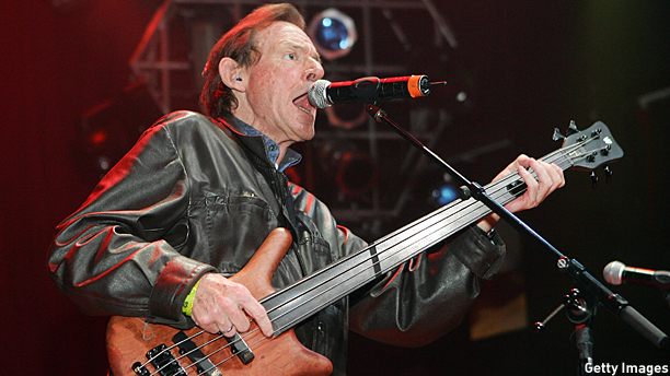 Jack Bruce onstage in 2007