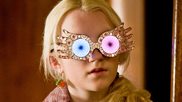 Evanna Lynch as Luna Lovegood (Pic: Warner Bros)