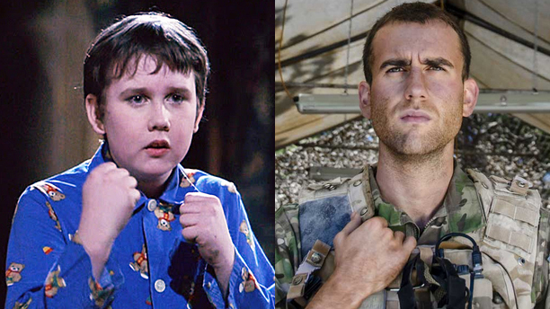 Matthew Lewis as Neville Longbottom, and in