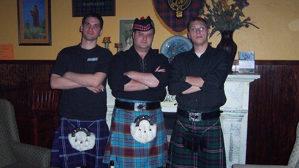 The wait staff at Savannah's Molly MacPherson's. (Molly MacPherson's)