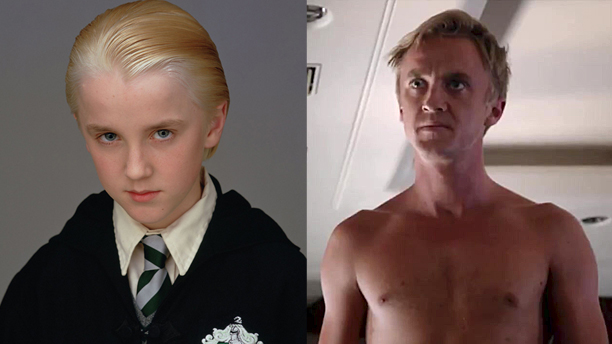 Tom Felton as Draco Malfoy and as Erich Blunt in 'Murder in the First'
