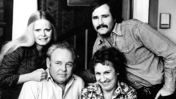 Clockwise from top right: Rob Reiner, Jean Stapleton, Carroll O'Connor, and Sally Struthers in 'All in the Family' (Photo: CBS)