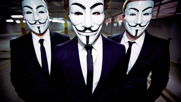 Guy Fawkes masks. (Photo: Fotolia)