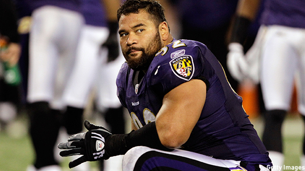 Haloti Ngata of the Baltimore Ravens. (Photo: Rob Carr/Getty Images)