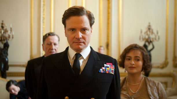 Colin Firth (center) in 'The King's Speech' (Photo: Weinstein Co.)