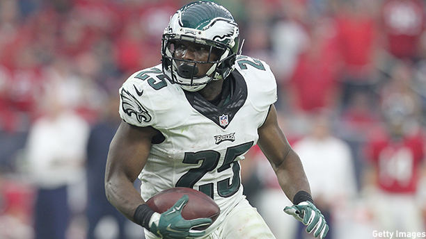 LeSean McCoy of the Philadelphia Eagles. (Photo: Thomas B. Shea/Getty Images)