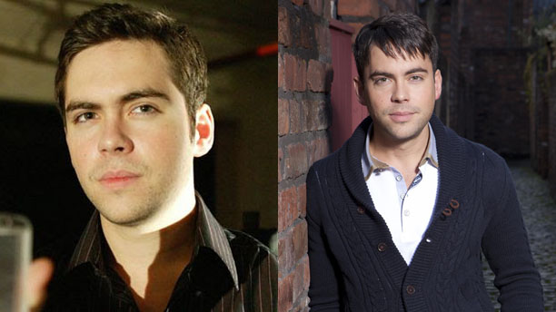 Bruno Langley as Adam Mitchell in 'Doctor Who' and Todd Grimshaw in 'Coronation Street'