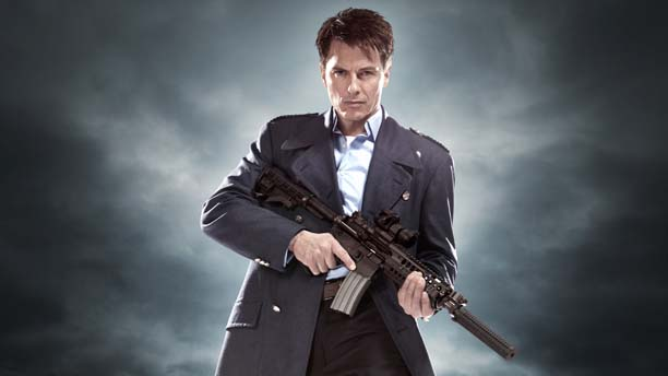 John Barrowman as Captain Jack Harkness. (BBC)
