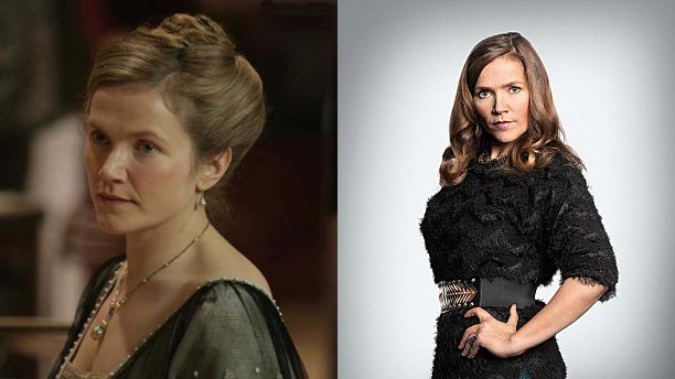 Jessica Hynes as Joan Redferne in 'Doctor Who' and Siobhan Sharpe in 'W1A'