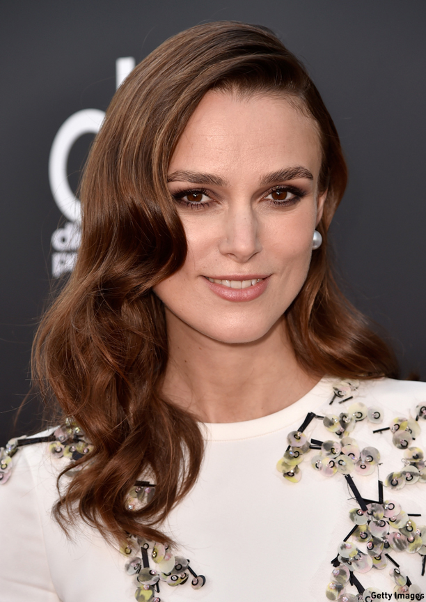 HOLLYWOOD, CA - NOVEMBER 14:  Actress Keira Knightley attends the 18th Annual Hollywood Film Awards at The Palladium on November 14, 2014 in Hollywood, California.  (Photo by Frazer Harrison/Getty Images for DCP)