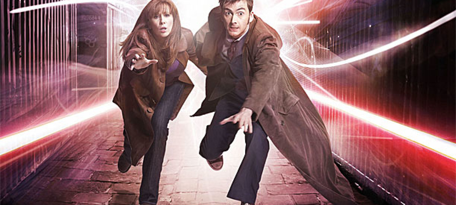Catherine Tate and David Tennant in 'Doctor Who'
