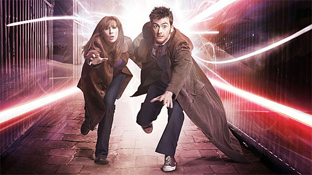 Catherine Tate and David Tennant in 'Doctor Who' (Pic)