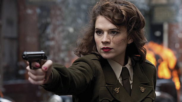 Hayley Atwell as Agent Carter in 'Captain America: The Winter Soldier' (Pic: Marvel)