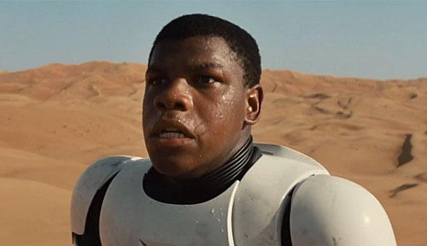 John Boyega in 'Star Wars: The Force Awakens' (Pic: Lucasfilm)