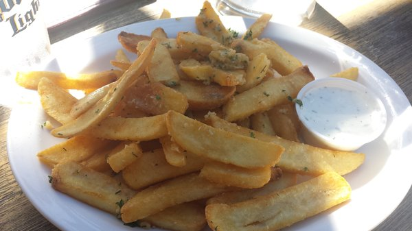A basket of chips at The Englander Pub. (Yelp)