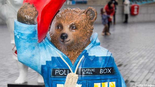 Peter Capaldi's Paddington TARDIS (Pic: Ian Gavan/Getty Images)