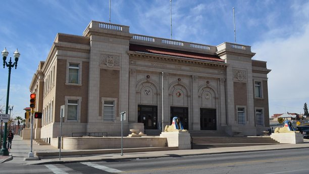 The exterior of the El Paso Scottish Rite. (Facebook)