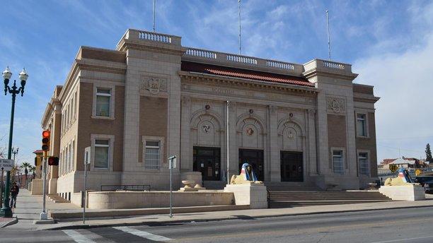 The exterior of the El Paso Scottish Rite. (Facebook)