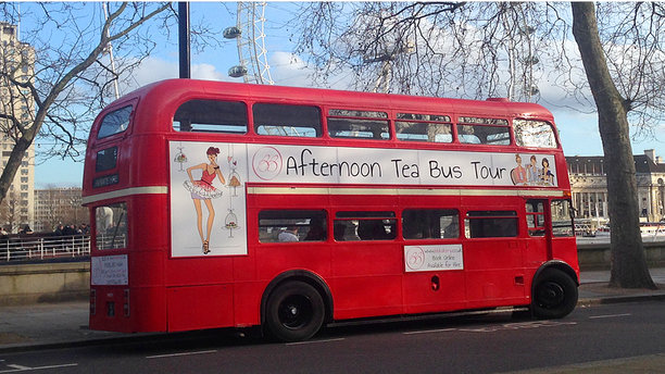 BB Bakery's Afternoon High-Tea Tour Bus. (BB Bakery)