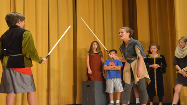 A performance at the 2014 Summer Shakespeare Conservatory. (Cal Shakes)