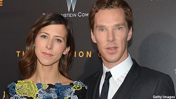 Sophie Hunter and Benedict Cumberbatch (Pic: Slaven Vlasic/Getty Images)
