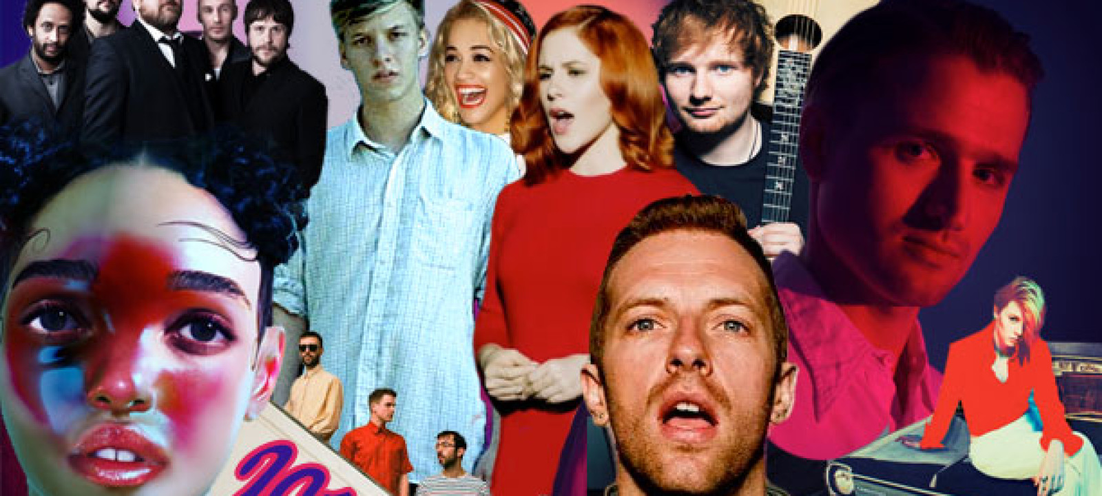 A selection of 2014's musical faces