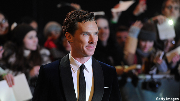 "LONDON, ENGLAND - DECEMBER 01:  Benedict Cumberbatch attends the World Premiere of ""The Hobbit: The Battle OF The Five Armies"" at Odeon Leicester Square on December 1, 2014 in London, England.  (Photo by Stuart C. Wilson/Getty Images)"