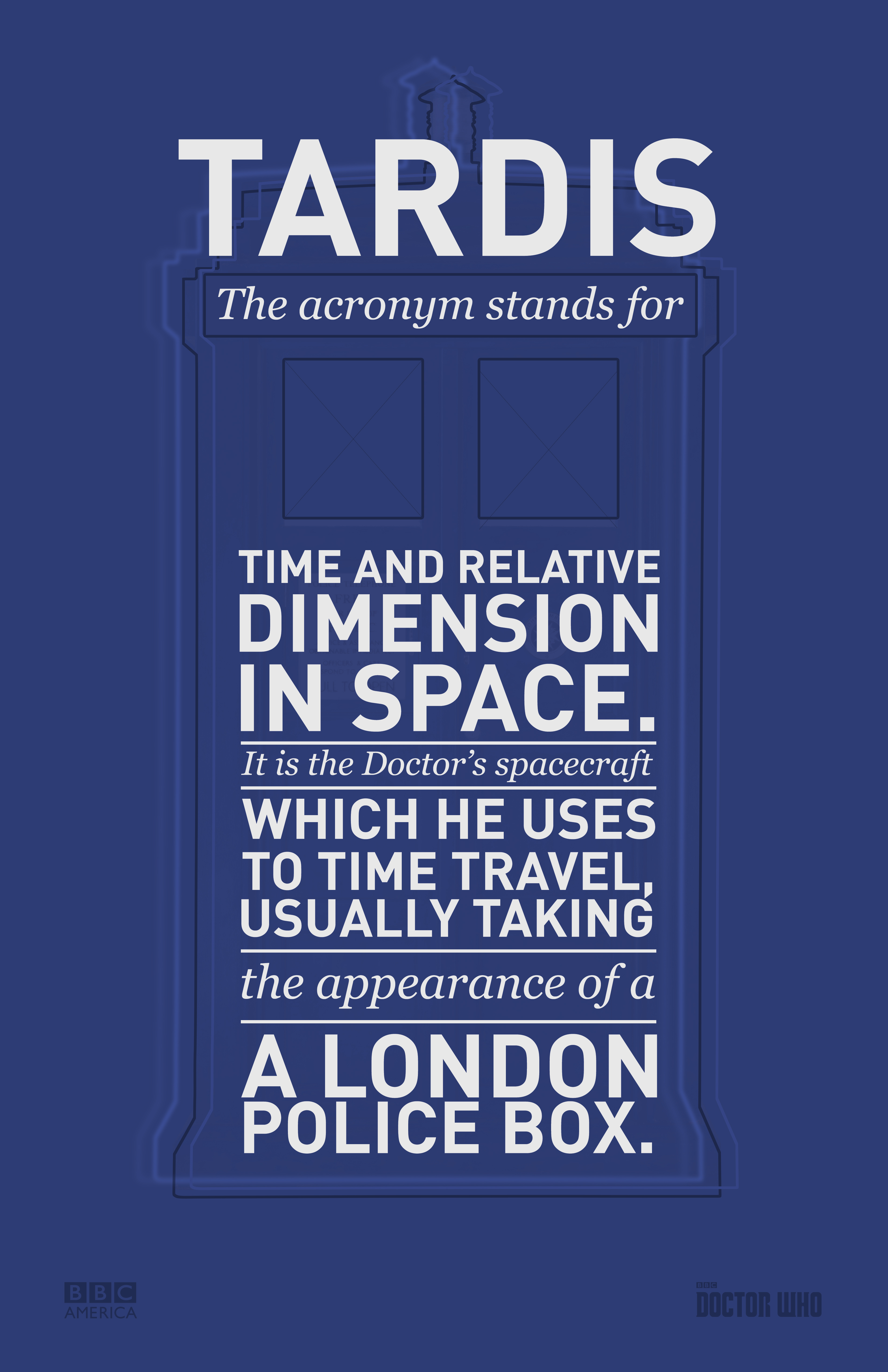Doctor Who Glossary Posters Bbc America