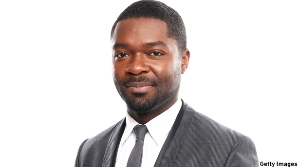SANTA MONICA, CA - JANUARY 16:  Actor David Oyelowo poses for a portrait during the 19th Annual Critics' Choice Movie Awards at Barker Hangar on January 16, 2014 in Santa Monica, California. (Dimitrios Kambouris/Getty Images)