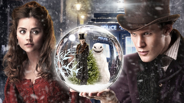 Jenna Coleman and Matt Smith in 'The Snowmen' (Pic: BBC)