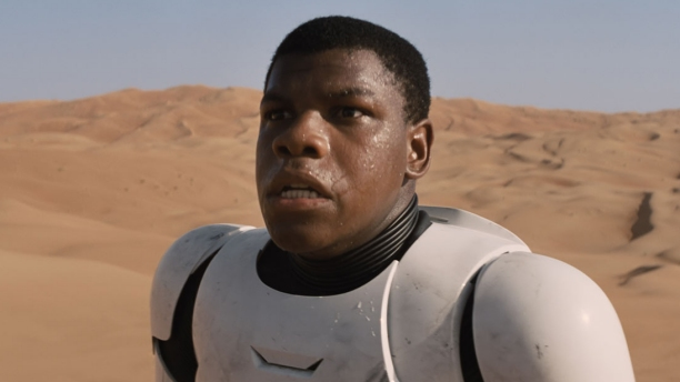 John Boyega in 'Star Wars: The Force Awakens' (Pic: Disney)