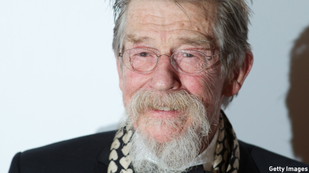 The newly-titled Sir John Hurt (Pic: Andrew Cowie/AFP/Getty Images)