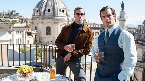 Armie Hammer and Henry Cavill in 'The Man From U.N.C.L.E.' (Pic: Warner Bros)