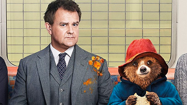 Hugh Bonneville and friend in 'Paddington' (Pic: Marmalade Films)