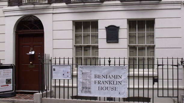 Benjamin Franklin's house in London. (Wikimedia)