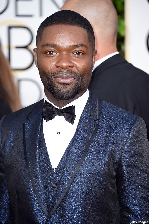 BEVERLY HILLS, CA - JANUARY 11:  Actor David Oyelowo attends the 72nd Annual Golden Globe Awards at The Beverly Hilton Hotel on January 11, 2015 in Beverly Hills, California.  (Photo by Frazer Harrison/Getty Images)