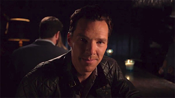 Benedict Cumberbatch on 'Jimmy Kimmel Live' (Pic: ABC)