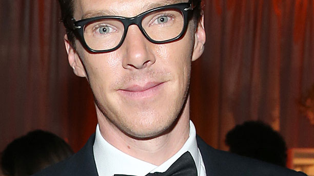 Benedict Cumberbatch and his brainy specs (Pic: Jonathan Leibson/Getty Images)