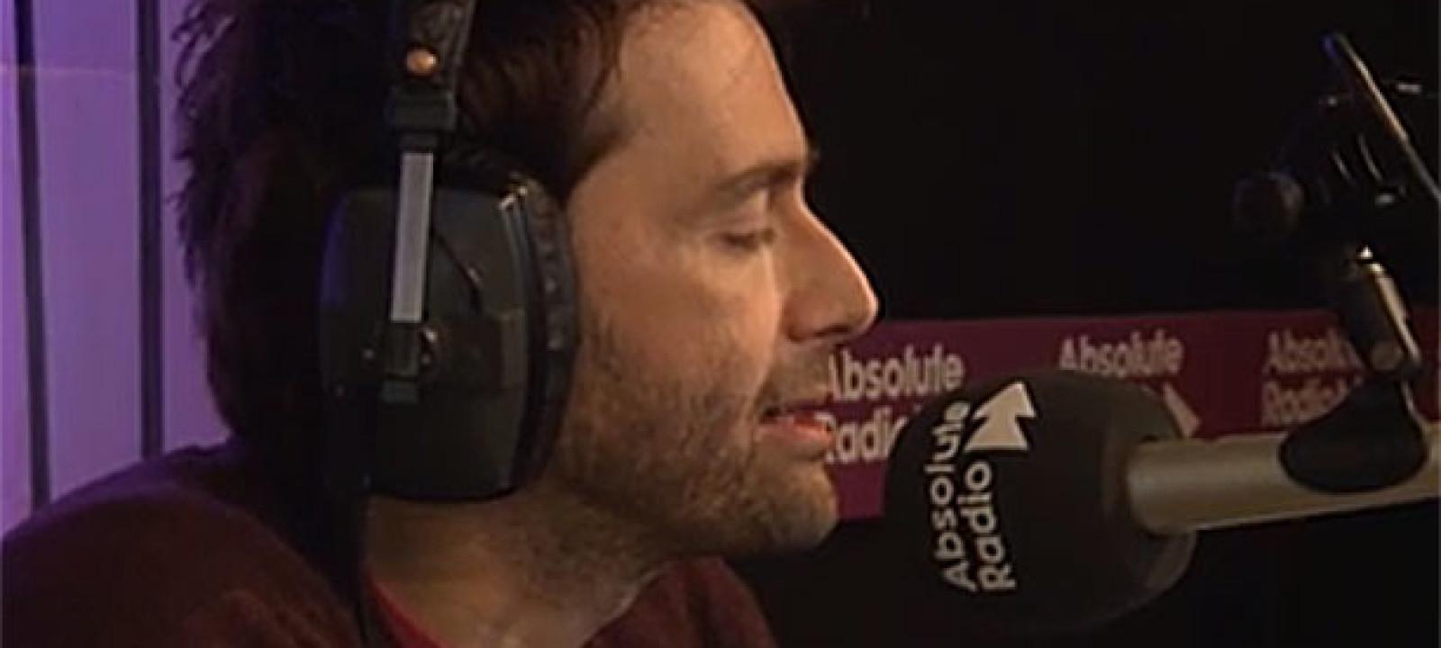 David Tennant (Pic: Absolute Radio)
