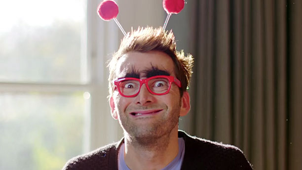 David Tennant: International Heartthrob (Pic: BBC Comic Relief)