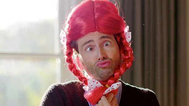 David Tennant's Comic Relief Face 2