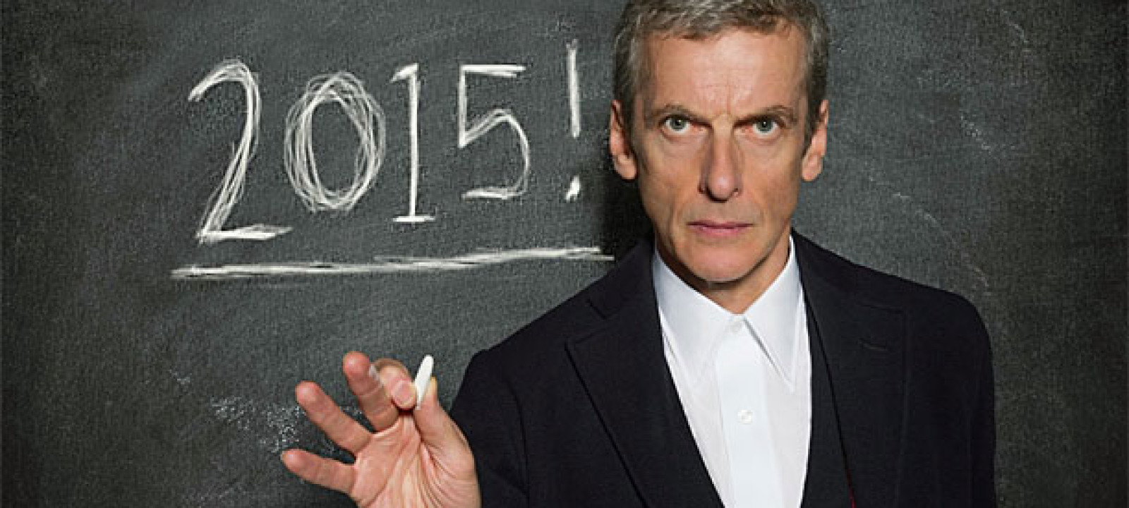 A fixed point in time. Happy new year! (Pic: BBC)